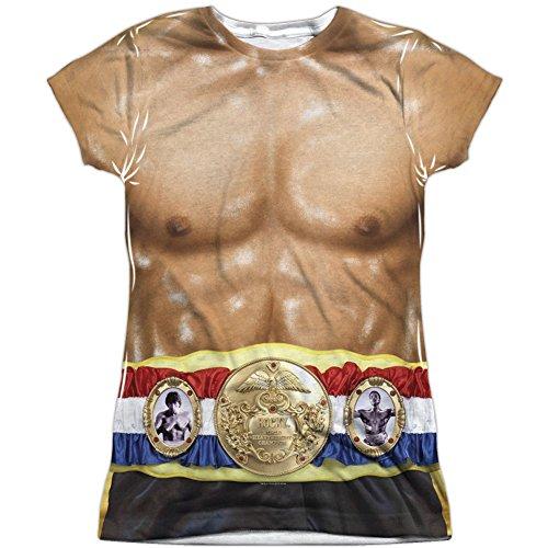 Rocky Camiseta de Manga Corta - Camiseta Gráfica - Manga Corta - Opaco - para Niña