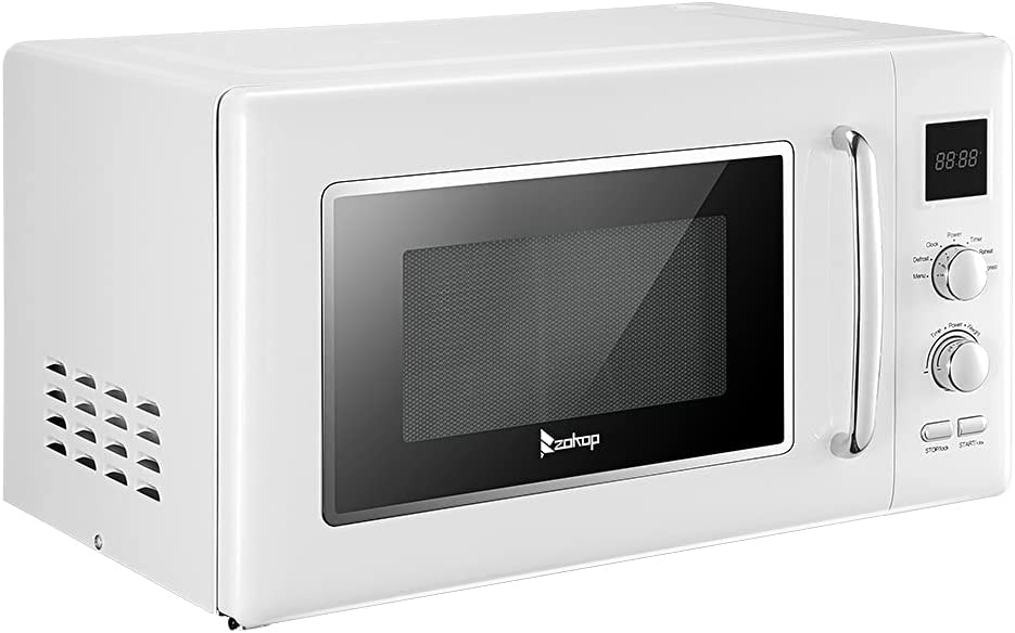 JIAD Retro New Rare Shipping Free Countertop Microwave O 0.9Cu.ft 900W Oven