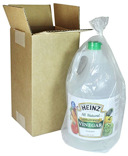 Heinz Distilled White Vinegar, 128 oz, Poly Bagged & Boxed