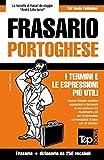 Frasario Italiano-Portoghese e mini dizionario da 250 vocaboli