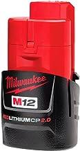 Bateria Ions de Lítio M12 2,0Ah 12V Milwaukee 48-11-2659 48-11-2659