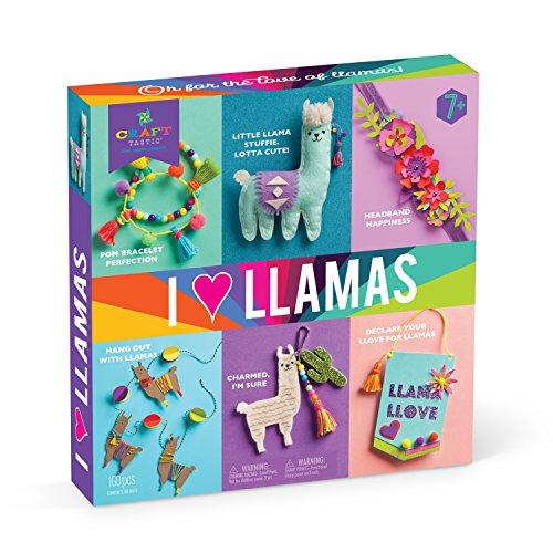 I Love Llamas Kit – Craft Kit
