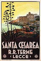 ERZANジグソーパズル 300 ピースサンタ・チェザーレア・テルメ・レッチェ 南イタリア ヴィンテージウッド パズル