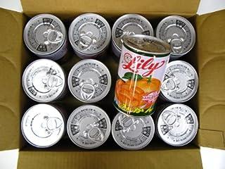 リリー缶詰みかん12個入り