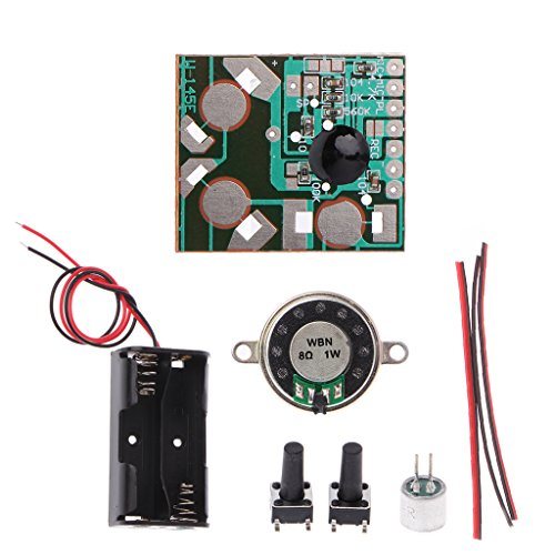 YiFeiCT DIY Elektronisches Kit Voice Recording IC-Modul Mini Digital Chip Recorder Music Card