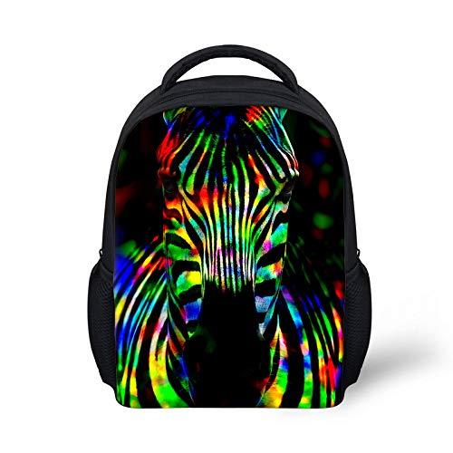 Bookbags 3D Zebra Gedrukt Koele Rugzak Voor Tieners Jongens Meisjes Schooltas Vrouwen Mannen Unisex Reizen Laptop Kindergarten Daypack