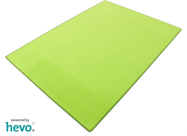 Romeo grün HEVO® Teppich   Kinderteppich   Spielteppich 200x200 cm B002E4Q5ZY