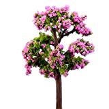 Phononey 2X Dekoration Mini Blume Puppenhaus Miniatur Landschaft Ornament Fairy Garden Aquarium...