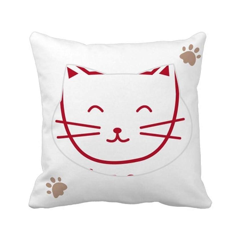専ら保有者凝視猫のにゃー単純な保護動物 枕カバーを放り投げる猫広場 50cm x 50cm