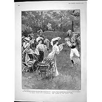 可愛い人の木製の Gymkhana のバミューダ島の 1904 人の Len シャン族kwan 戦争