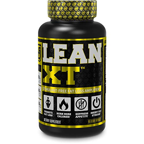 Lean-XT Non Stimulant Fat Burner - Weight Loss Supplement, Appetite Suppressant, Metabolism Booster...