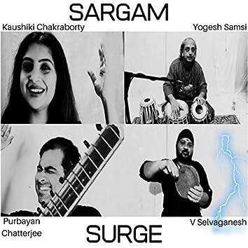 Sargam Surge (feat. Kaushiki Chakraborty, Yogesh Samsi, V Selvaganesh)