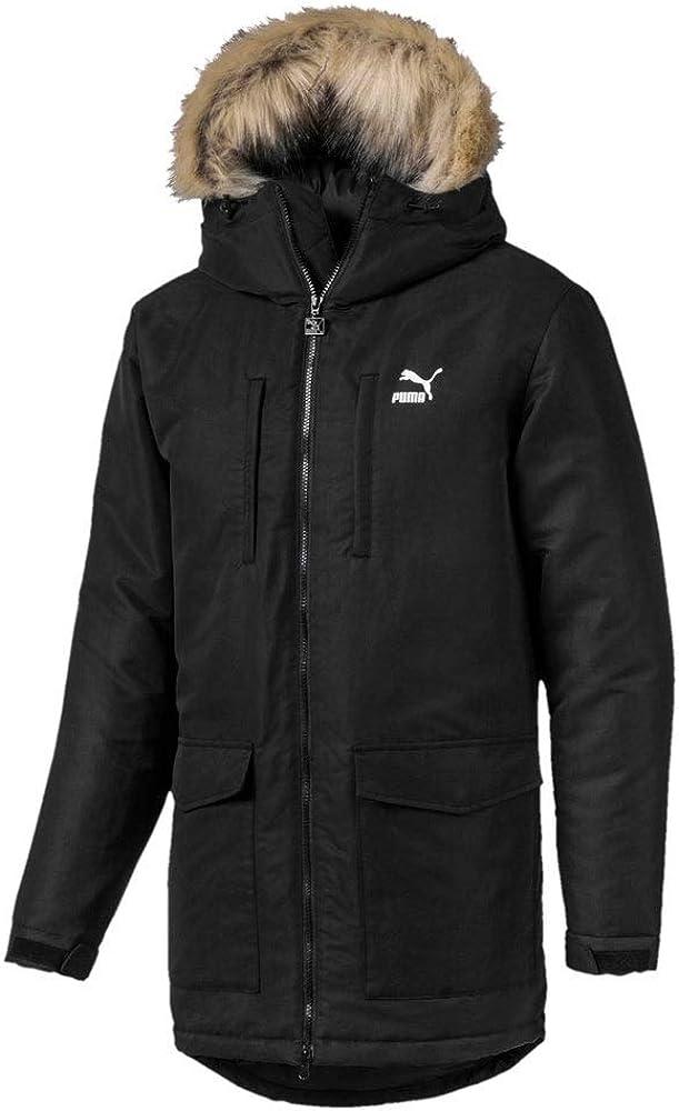 Puma Mens Classics Padded Jacket Adjustable Closure - Black