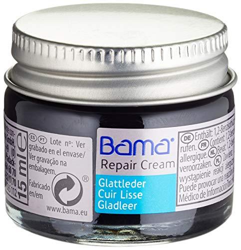 Bama Unisex Repair Creme 15ml Schuhpflegeprodukt, Schwarz 009, 15 ml