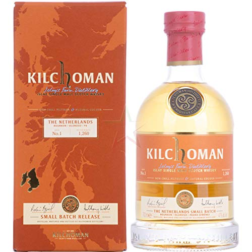 Kilchoman SMALL BATCH Islay Single Malt Whisky (1 x 0.7 l)
