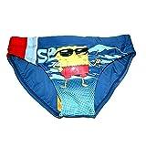 Kinder Badehose blau | Gr.110-140 | SpongeBob | Badeshorty, Größe:140
