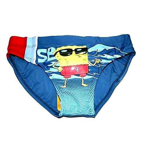 SpongeBob zwembroek blauw | kinderen zwemshorty | maat 110-140