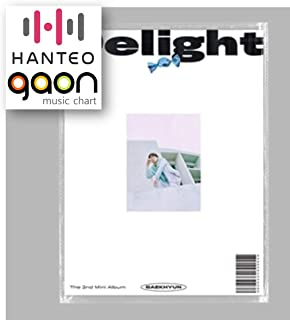 Baekhyun - Delight [Mint ver.] (2nd Mini Album) [Pre Order] CD+Booklet+Folded Poster+Others with Extra Decorative Sticker Set, Photocard Set