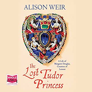 The Lost Tudor Princess cover art