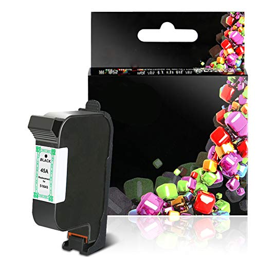 GXZC Modelo 51645 cartucho de tinta compatible de repuesto para HP DESKJET 710C 720C 815C 820CXI 830C 850C 870CXI 880C 890C 895CXI 930C 950C 955C 960C 970CXI 990CXI