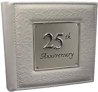Album 25° anniversario matrimonio Può contenere 806x 4foto Spazio per scrivere Un grazioso regalo anniversario