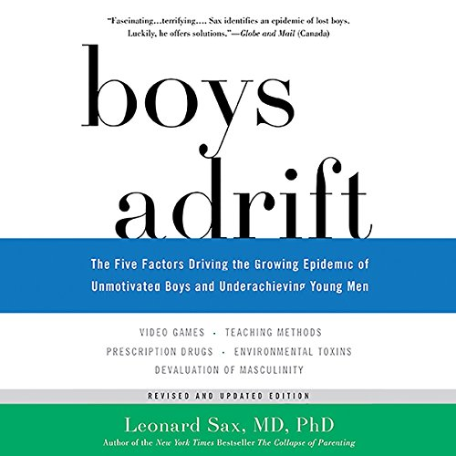 Boys Adrift audiobook cover art
