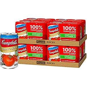 Campbell's Tomato Juice, 5.5 Fl Oz (pack of 6) |