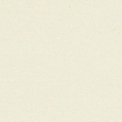 Kt KILOtela Tela de loneta Lisa - Retal de 100 cm Largo x 280 cm Ancho | Crudo ─ 1 Metro