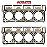 Fel-Pro Cylinder Head Gaskets compatible with 2003-11 Ford 6.0L 6.0 Powerstroke Diesel Turbo Engines with 20mm head dowels (2 Head Gaskets)