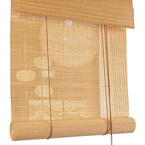 PNAYK Estor de bambú retro para exteriores, de alta calidad, tejido a mano, para terraza, cenador, protección solar, aislamiento térmico, 60 x 120 cm