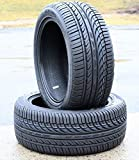 Set of 2 (TWO) Fullway HP108 All Season High Performance Tires - 245/45ZR18 100W XL
