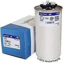 GE Genteq Round Capacitor 60 7.5 uf MFD 370 Volt Z97F9817 97F9817
