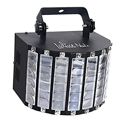 LaluceNatz DJ Lights with 30W Multicolor LED Beams by IR Remote and DMX Control for Disco Club Birthday Party Stage Lighting (Metal Casing) from LaluceNatz