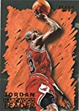 1996-97 FLEER #123 MICHAEL JORDAN HL BULLS BASKETBALL