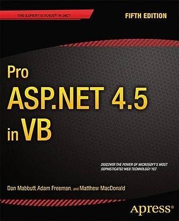 Pro ASP.NET 4.5 in VB by Dan Mabbutt Adam Freeman Matthew MacDonald(2013-09-26)