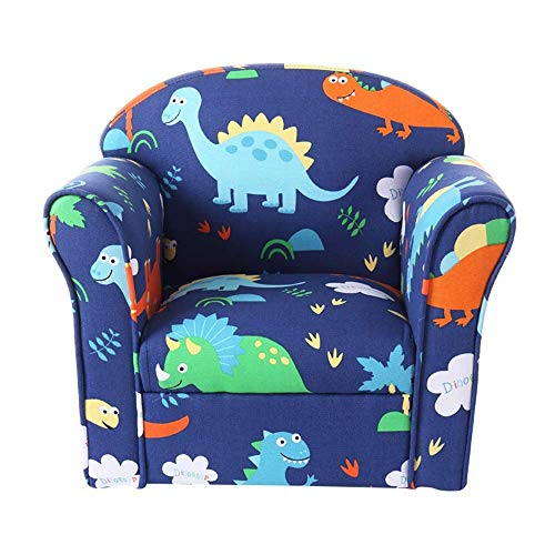 NBVCX Möbel Dekoration Stuhl für Kinder und Erwachsene Kinder Einzel Sofa Boy Girl Sofa Sitz (Farbe: Blau Größe: 44x40x52cm)