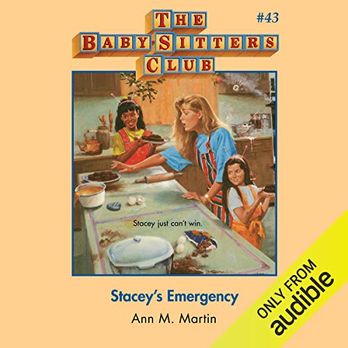 Stacey's Emergency audiobook cover art