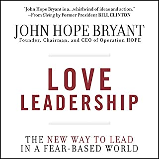 Love Leadership audiobook cover art