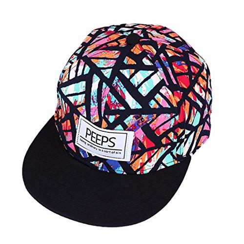 Gorra de béisbol unisex de tamaño ajustable con cierre trasero, para el sol, para conductor de camión, senderismo, Hip Hop de Yohope