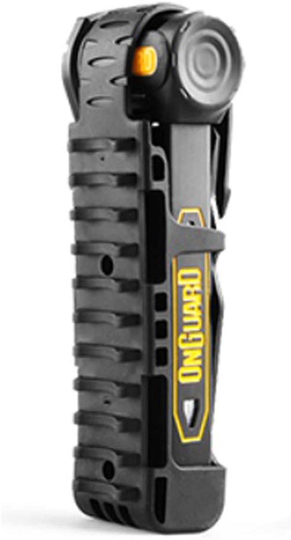 Onguard Folding Link Plate Bike Security Lock 8116 K9 Slim Size 490g Weight
