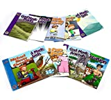 A Reason For Guided Reading Beginning Readers 10 Book Set, Creation & Scripture Values - Kids Workbooks for Kindergarten, 1st Grade & 2nd Graders - Learning Books for Comprehension & Words Skills