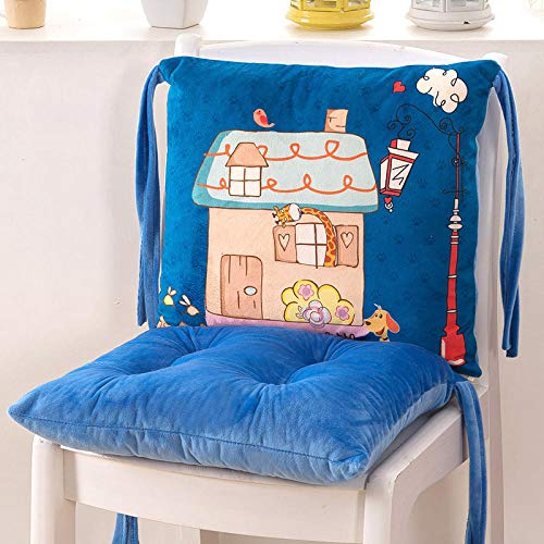 para la relajación y el calentamiento,Estera de calefacción de oficina, cojín de silla súper suave plegable y transpirable-Cojín separado_Cozy cottage,Temporizador más cálido Calefacción eléctrica C