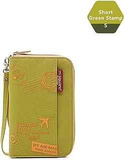 M square Travel passport wallet holder safety documents organizer case