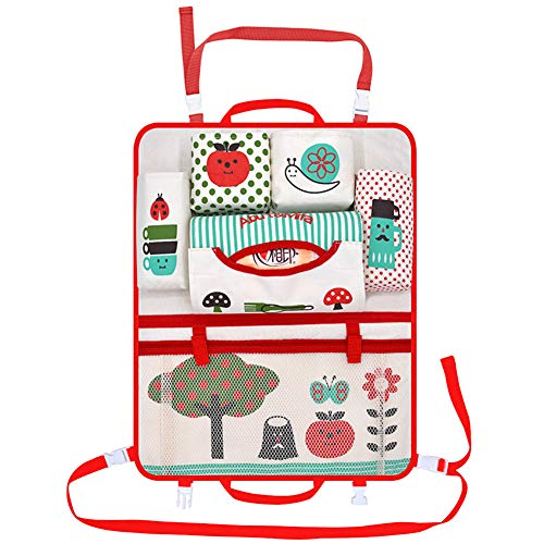 RONSHIN Auto Cartoon Stoel Terug Opslag Hang Tas Organizer Car-styling Tas little apple(table style)