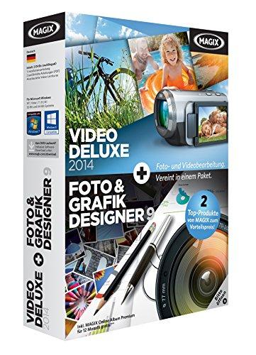 MAGIX Video Deluxe 2014 + Foto und Grafik Designer 9