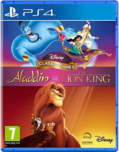 Disney Classic Games: Aladdin And The Lion King PS4 - PlayStation 4