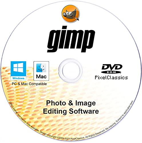 GIMP Photo Editor 2021 Premium Professional Image Editing Software CD...