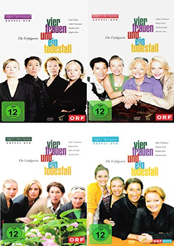 Vier Frauen und ein Todesfall Staffel - Die komplette 1. - 4. Staffel [4er DVD-Set]