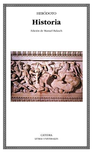 Historia (Letras Universales nº 274)