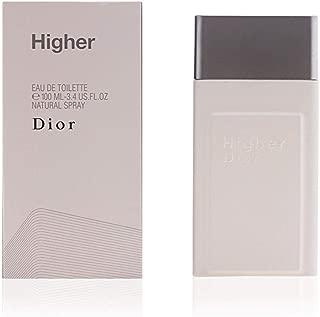 Higher By Christian Dior For Men. Eau De Toilette Spray 1.7 Ounces
